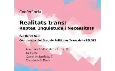 Realidades Trans: Retos, Inquietudes y Necesidades