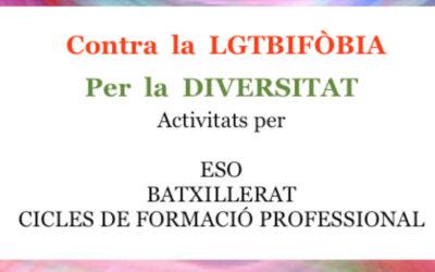Contra la LGTBIFÒBIA per la DIVERSITAT