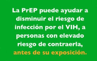Profilaxis Prexposición frente al VIH (PReP)
