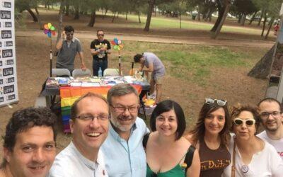 El PSPV-PSOE participa en el IV Festival de las familias orgullosas organizado por el colectivo LGTBI