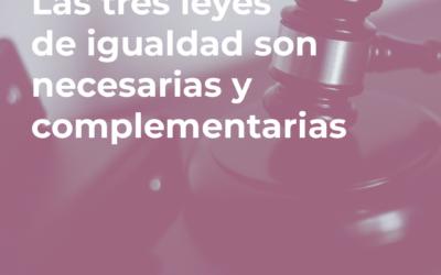 FELGTB, Triángulo, Chrysallis ven las tres leyes de igualdad necesarias y complementarias